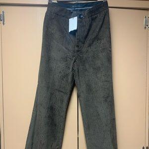 Corduroy 3/4 Pants